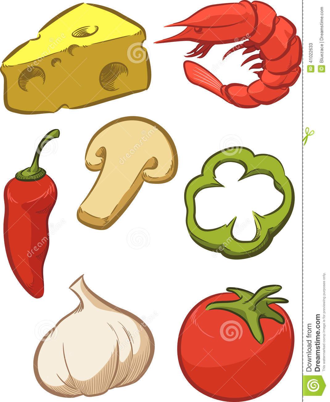 Pizza Ingredient - Tomato .