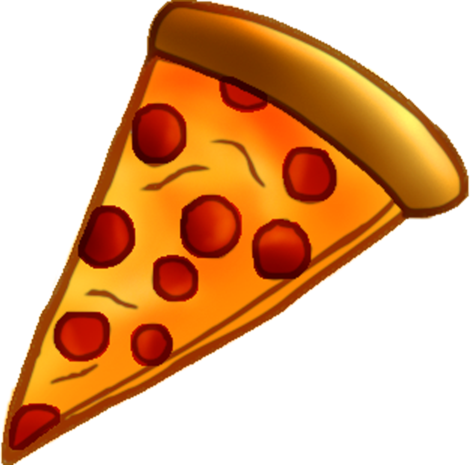 Pizza slice clip art free .