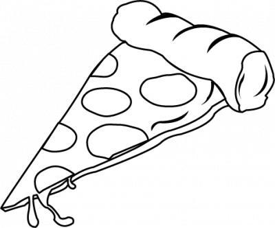 Pizza Slice Clipart Black And White 78 P-Pizza Slice Clipart Black And White 78 Pizzaslice Png-7