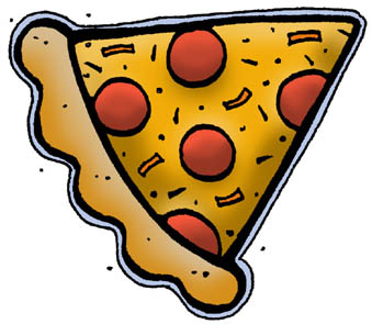 Pizza slice clipart - . Cheese Pizza Icons - Free .
