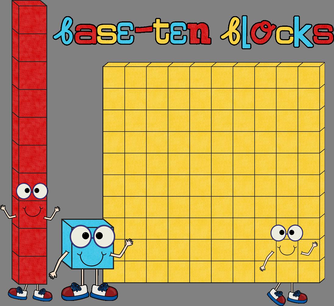 Base Ten Blocks Represent Wha