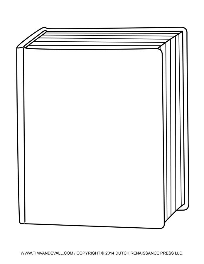 Plain Book Cover Clipart Book Cover Temp-Plain Book Cover Clipart Book Cover Template-4