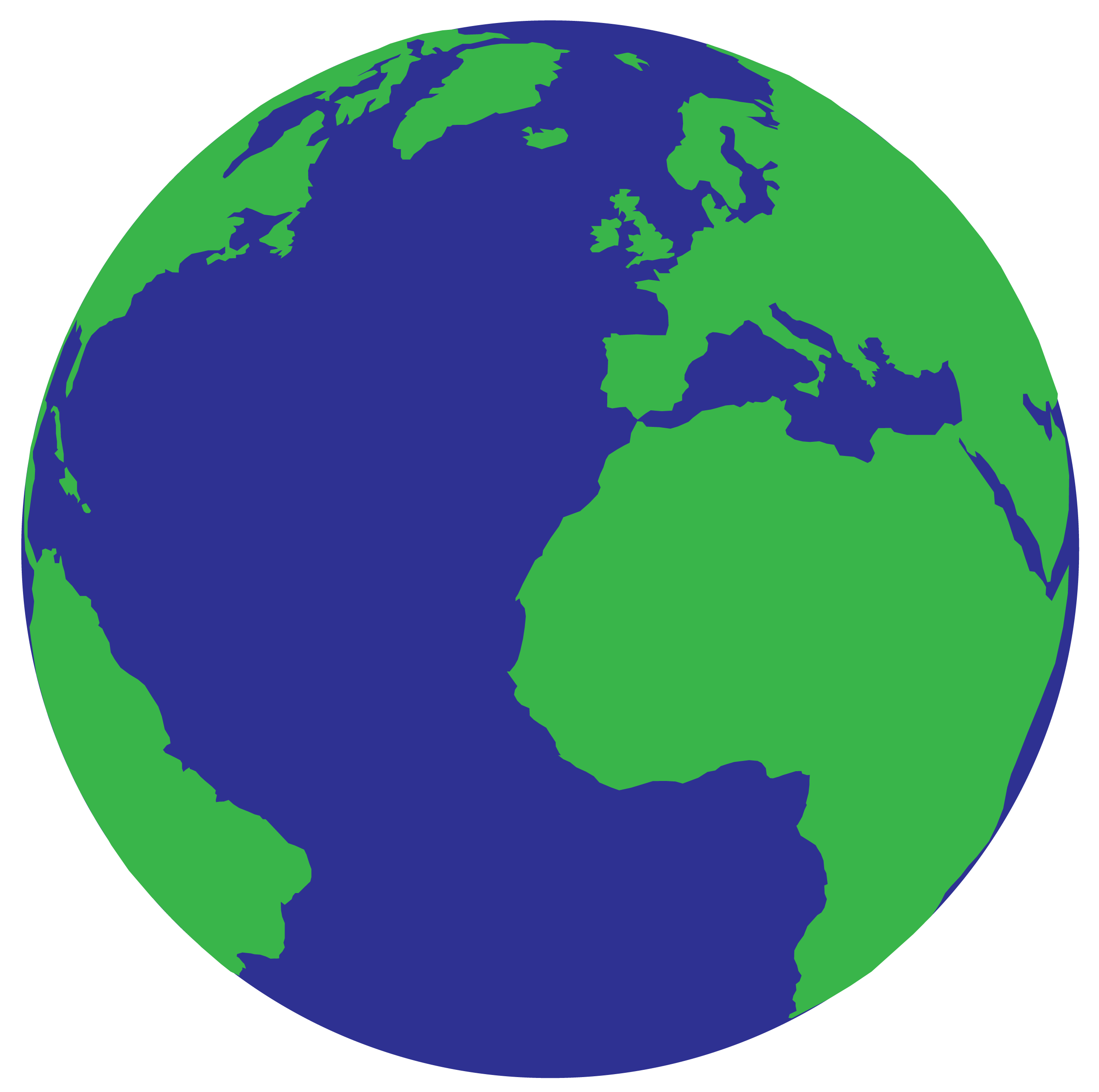 Planet Earth Clipart - clipartall
