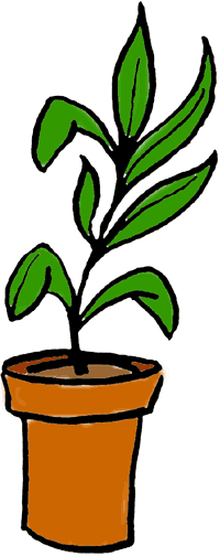 Plants. How to save clip art: