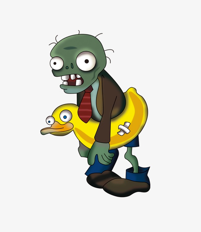 diving zombie, Plants Vs. Zombies, Diving PNG Image and Clipart
