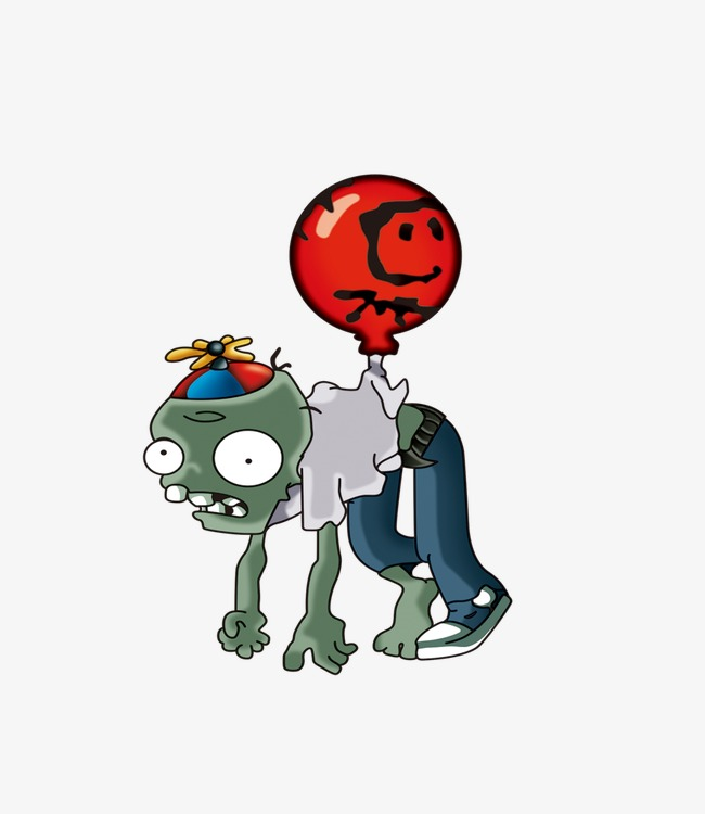 zombie balloon, Plants Vs. Zombies, Zomb-zombie balloon, Plants Vs. Zombies, Zombie PNG Image and Clipart-15
