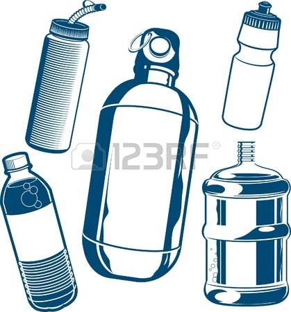 plastic bottles: Water Bottle Collection