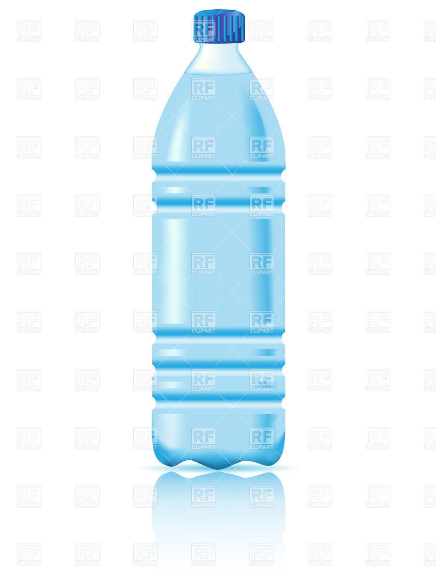 plastic water bottles clip art