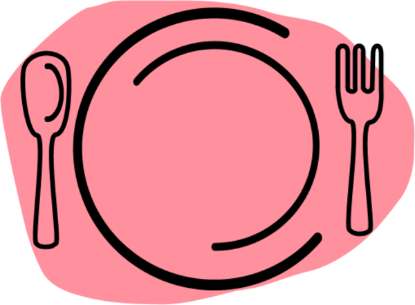 Dinner Plate Clip Art At Clke