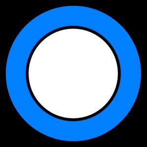Plate Blue Clip Art At Clker  - Plate Clip Art