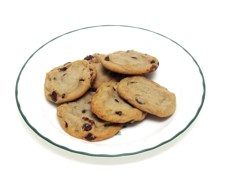 Plate Of Cookies Clip Art Chocolate Chip-Plate Of Cookies Clip Art Chocolate Chip Cookies On A-13