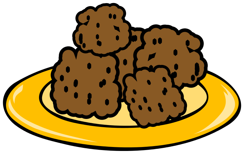 Plate Of Sugar Cookies Clipart Free Clipart Images