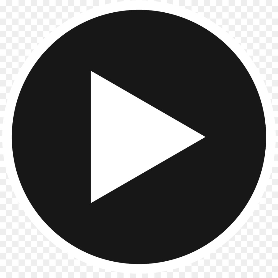 Button Clip art - Youtube Play Button 2292*2257 transprent Png Free  Download - Angle, Monochrome Photography, Brand.