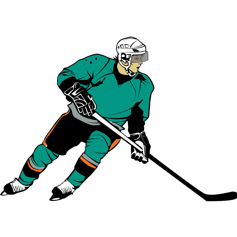Player Clip Art; Hockey .-Player Clip Art; Hockey .-2