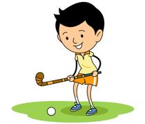 Player Holding Hockey Stick Size: 90 Kb