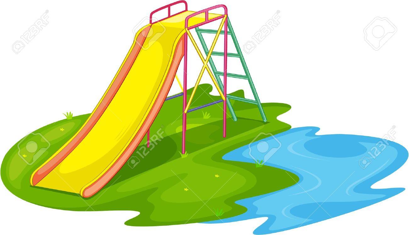 Playground slides clip art - ClipartFest