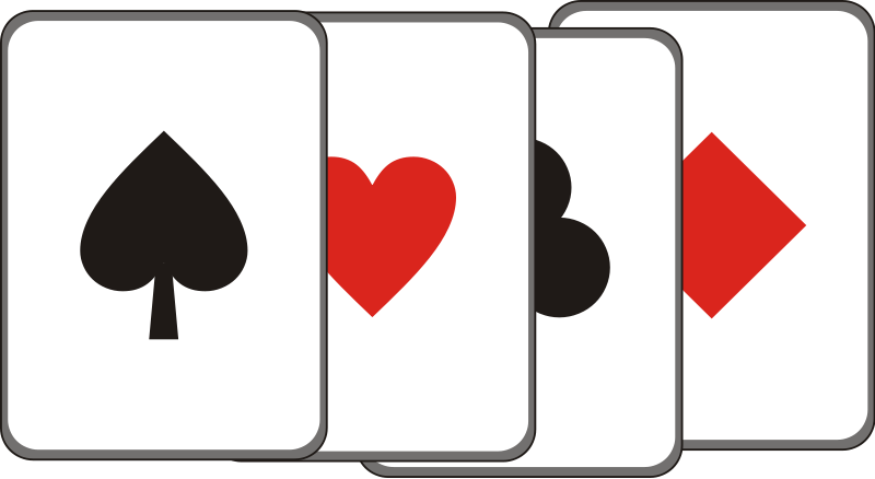 Playing card clip art - ClipartFest