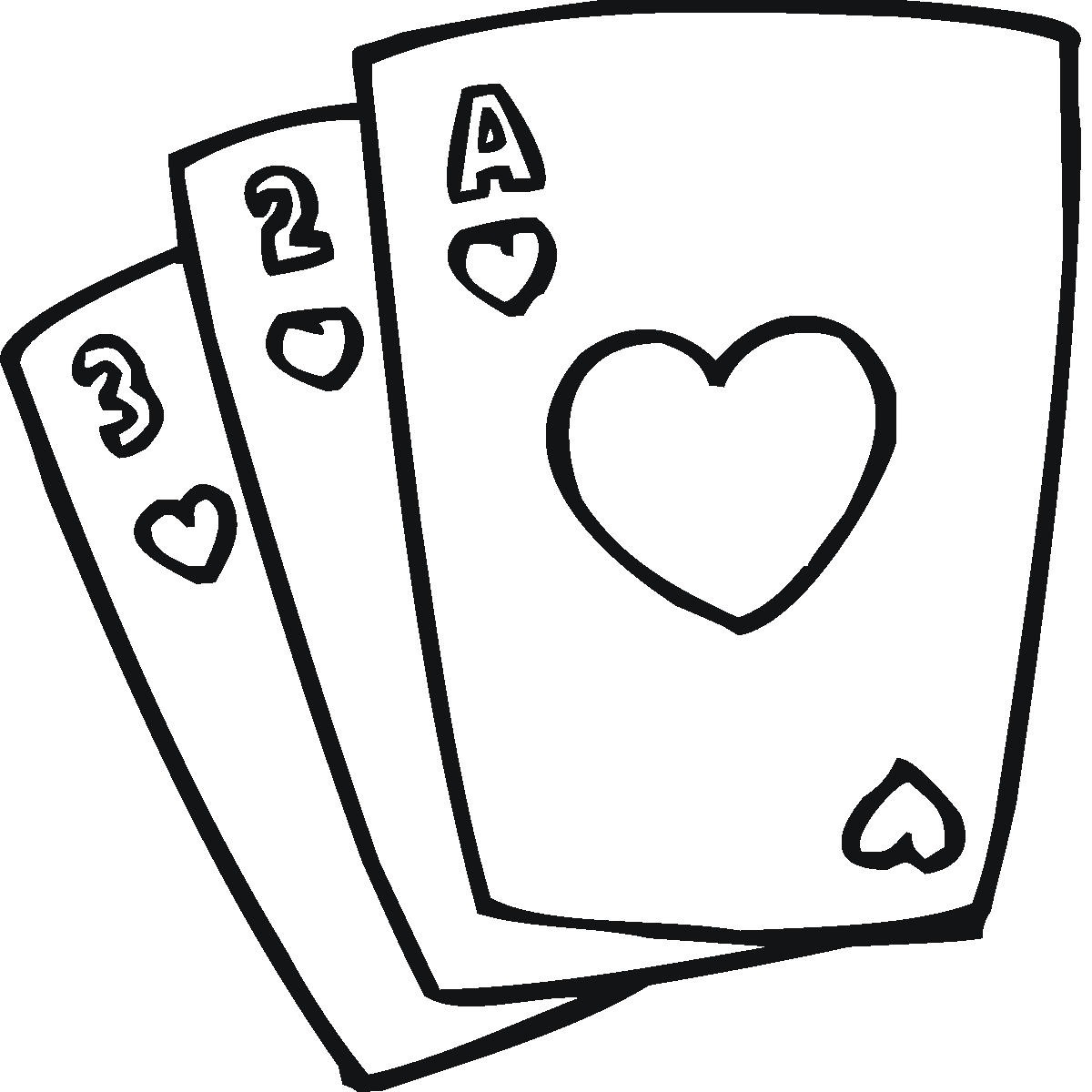 Playing Card Clip Art Cliparts .