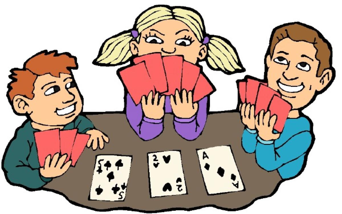 Playing cards clipart free - .