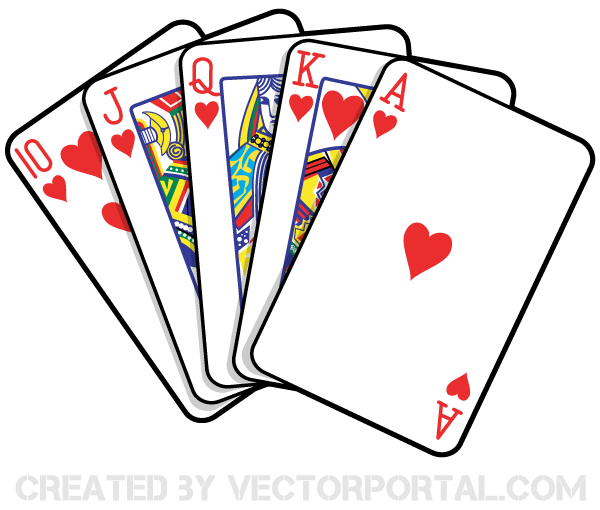 Playing Cards Vector Art 123freevectors