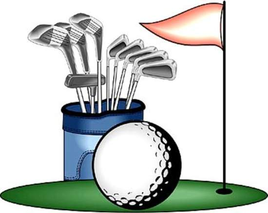 Playing Golf Clipart-Playing Golf Clipart-0