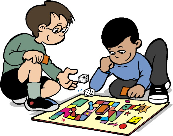 Playing Monopoly Game Clipart - Game Clipart