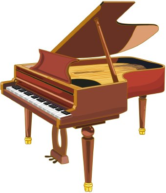 Playing Piano Clipart Clipart - Piano Clipart Free