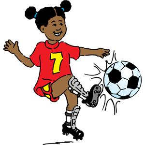 Playing Soccer Clip Art-Playing Soccer Clip Art-6