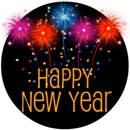 Please scroll down to see the New Years clip art