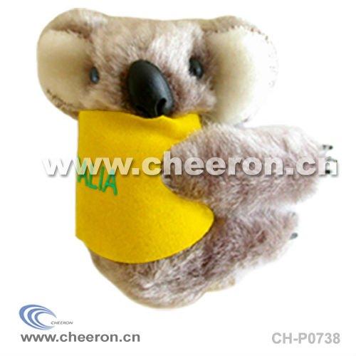 Plush Clip Koala, Cute Soft Koala Toy, Mini Koala Clip