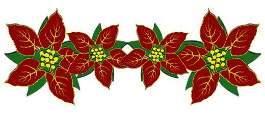 Poinsettia Clip Art Free - Clipart library. 11816022_f520.jpg