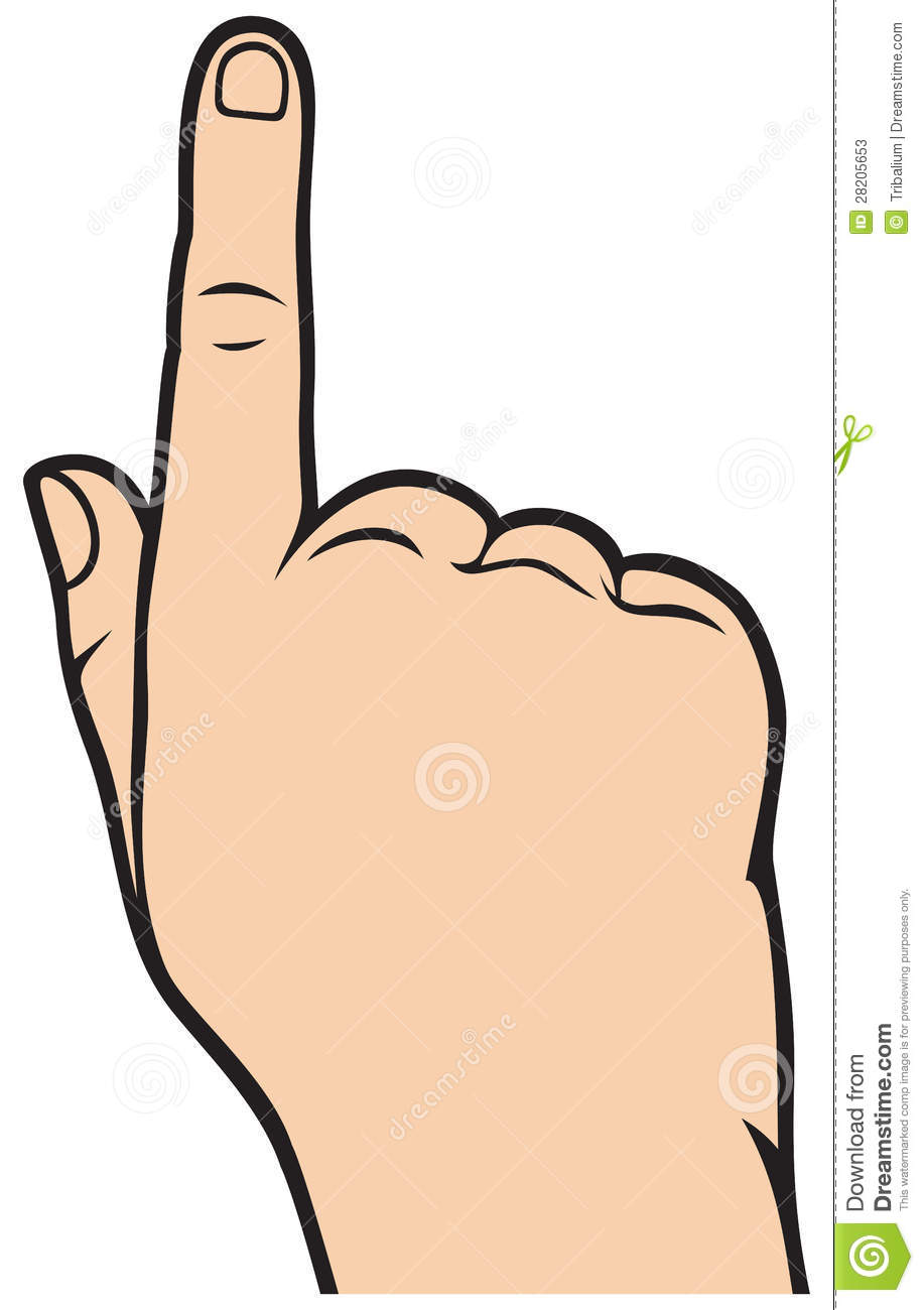 pointing hand clipart