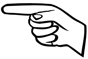 Pointing finger clip art download-Pointing finger clip art download-4