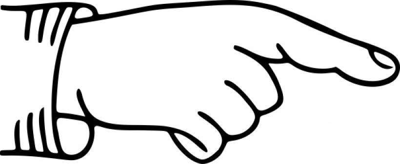 Pointing Finger Clipart Zeigender Finger-Pointing finger clipart zeigender finger pointing-12