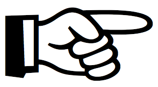 Pointing Finger Symbol Is Cal - Pointing Finger Clipart
