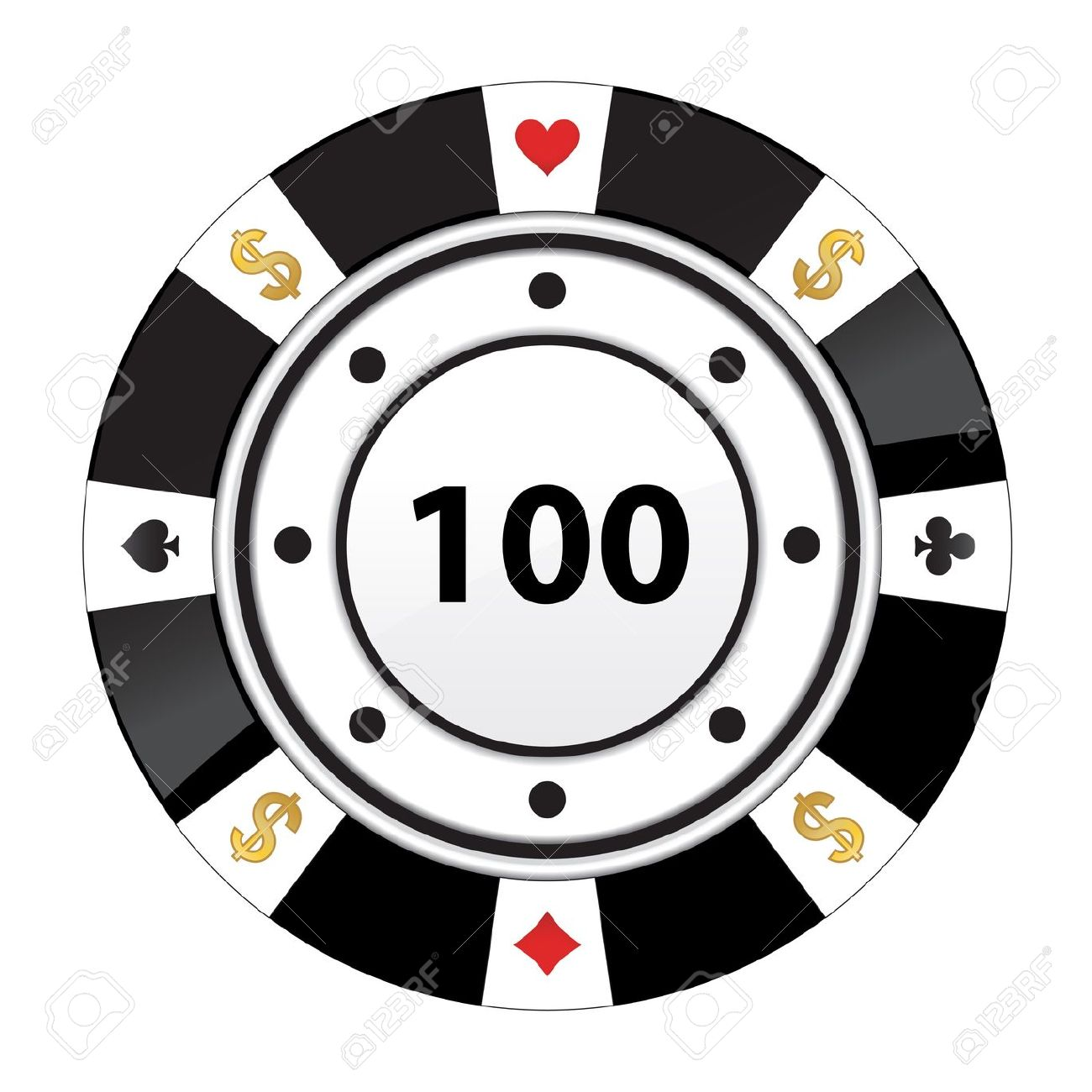 Poker Chips Clipart Black And White Clip-Poker chips clipart black and white ClipartFest-13