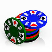 Poker Chips Clipart-Poker Chips Clipart-4