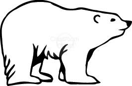Polar bear bear clip art .