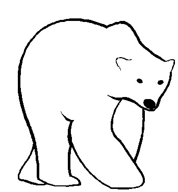Polar Bear Clip Art-Polar Bear Clip Art-14