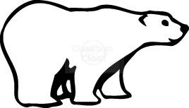 Polar Bear Clip Art-Polar Bear Clip Art-6