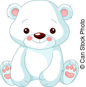 Polar Bear - Fun Zoo. Illustration Of Cu-Polar Bear - Fun zoo. Illustration of cute Polar.-14