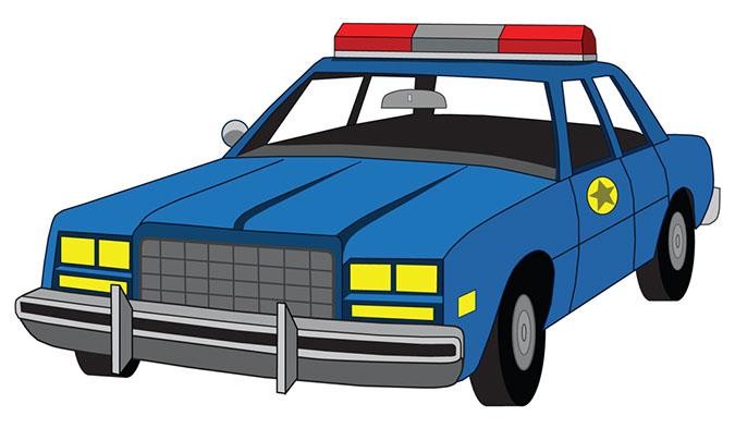 Police Car Clipart-police car clipart-9