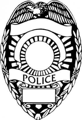 police officer badge clipart
