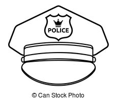 Police cap Stock Illustration - Police Hat Clip Art
