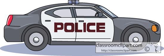 Police car car emergency clipart kid