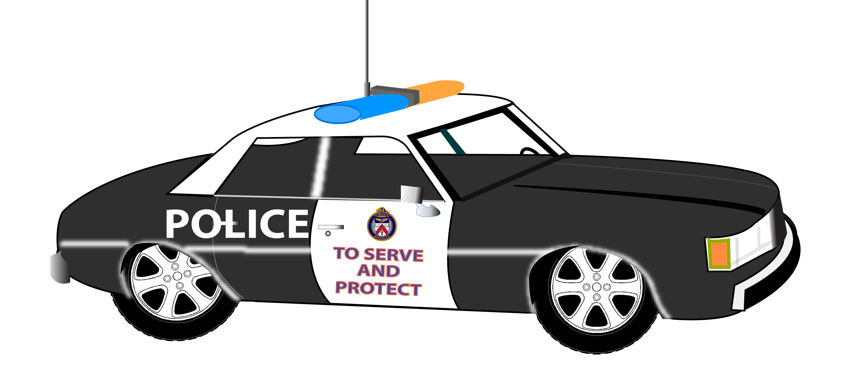 Police Car Clip Art Free Vector In Open -Police car clip art free vector in open office drawing svg-12