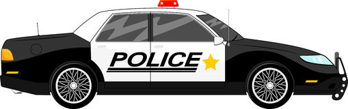 Police Car Stock Image-Police car Stock Image-16