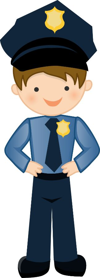 Police clip art for kids free .