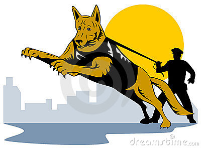 Police Dog Stock Illustrations u2013 488 Police Dog Stock Illustrations, Vectors u0026amp; Clipart - Dreamstime