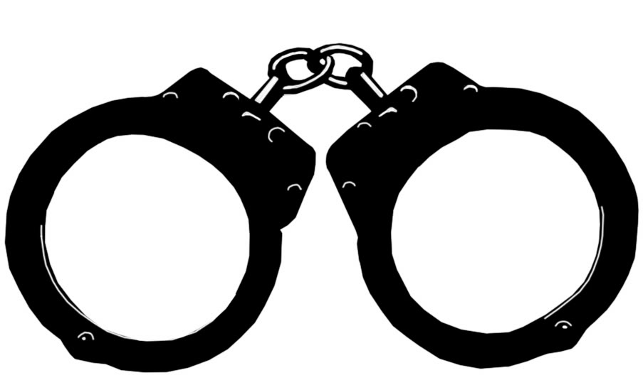 Police Handcuffs Clip Art Jpe - Handcuff Clip Art